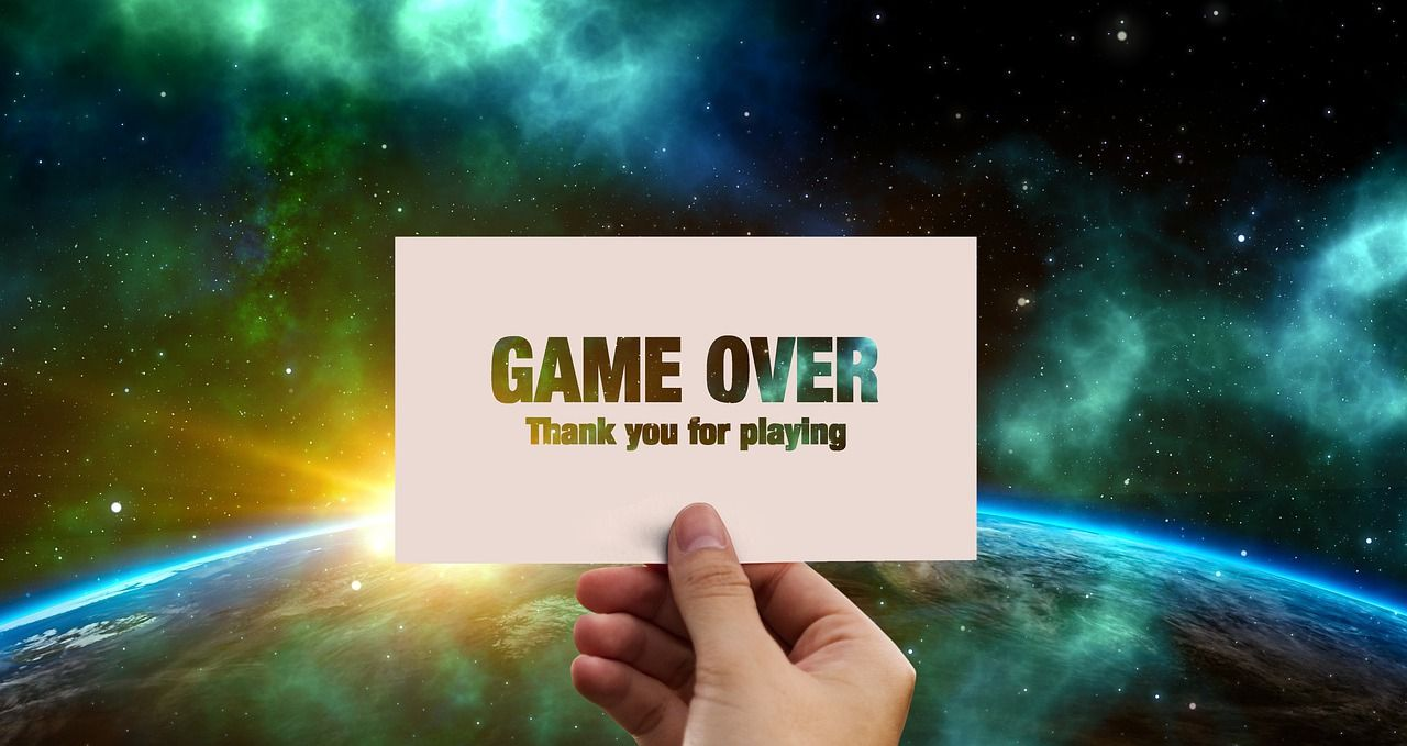 game telah berakhir