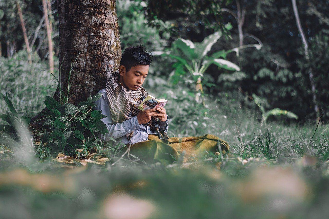 ikhlas berdoa di hutan